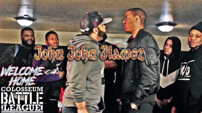 "Colosseum Battle League presents ""JOHN JOHN FLAMEZ vs BRASI"""